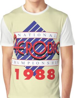 1988 National Aerobic Championship Graphic T-Shirt