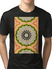 Abstract Alphabet Design 2 Tri-blend T-Shirt