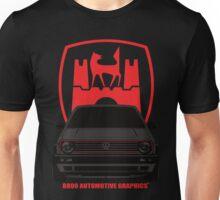 VW Golf GTI Mk2 Wolfsburg Grey Edition Unisex T-Shirt