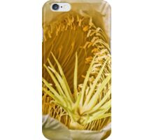 Night Blooming Cereus Close Up  iPhone Case/Skin