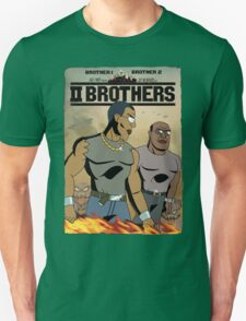 TWO BROTHERS!! - www.shirtdorks.com Unisex T-Shirt