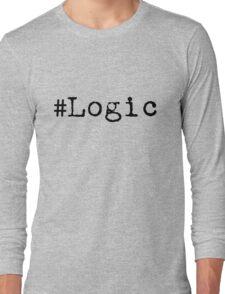 """#Logic"" black Long Sleeve T-Shirt"