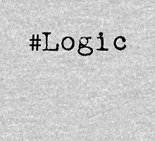 """#Logic"" black Unisex T-Shirt"