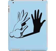 Shadow Rabbit by Light Illusions iPad Case/Skin