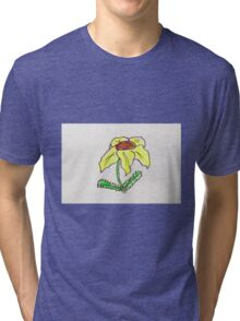 cute yellow flower Tri-blend T-Shirt