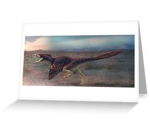 Dakotaraptor Restored Greeting Card