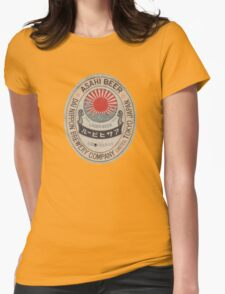 JAPANESE BEER ASAHI Womens Fitted T-Shirt