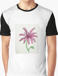 pink daisy  Graphic T-Shirt