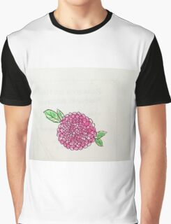 pink poppy flower Graphic T-Shirt