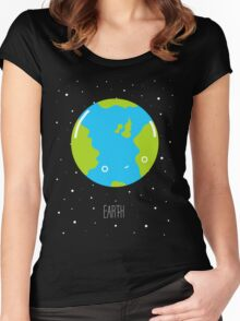 The Earth Women's Fitted Scoop T-Shirt