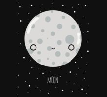 The Moon  One Piece - Short Sleeve