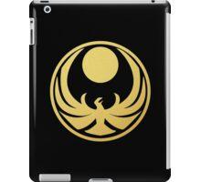 Nightingale (Gold) iPad Case/Skin