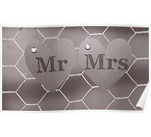 Mr & Mrs Poster