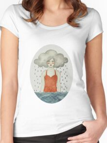 Aglaura Women's Fitted Scoop T-Shirt