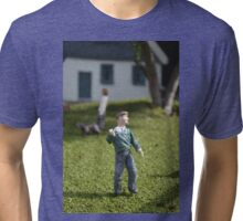 Miniature Man Tri-blend T-Shirt