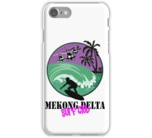 MEKONG DELTA SURF CLUB iPhone Case/Skin