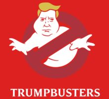 Trump Busters - Donald Trump Ghostbusters One Piece - Short Sleeve