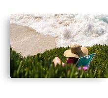 Above The Surf Canvas Print