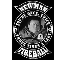 Newman Fireball Photographic Print