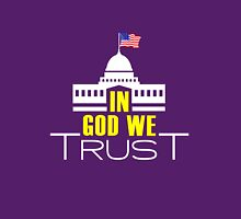 In God We Trust. Women's Fitted Scoop T-Shirt