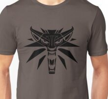 The Witcher - Wolf Medallion  Unisex T-Shirt