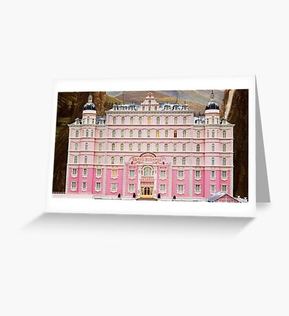 The Grand Budapest Hotel - Wes Anderson Film Greeting Card