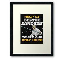 star wars bernie Framed Print