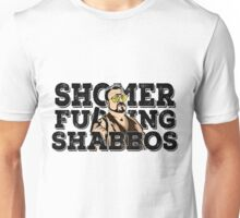 Shomer Shabbos- the big lebowski Unisex T-Shirt