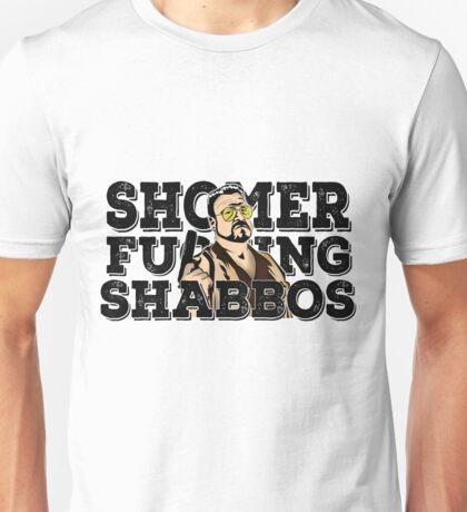 Shomer Shabbos- the big lebowski Unisex T-Shirt