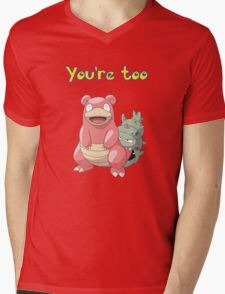 You're too Slowbro Mens V-Neck T-Shirt