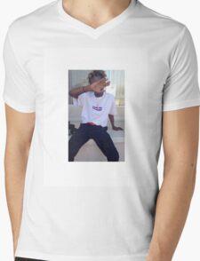 IAN CONNOR X BOX LOGO Mens V-Neck T-Shirt
