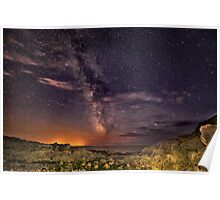 The Welsh Milky Way Poster