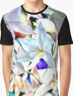 Cascading Cymbidium Graphic T-Shirt