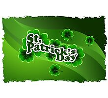 patricks day abstract Photographic Print