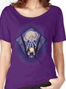 Warrior Class Woman -Saturn  Women's Relaxed Fit T-Shirt