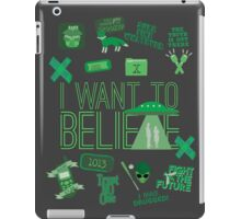 Design in the Key of X iPad Case/Skin