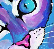 Star Kitten - Animal Art by Valentina Miletic Sticker