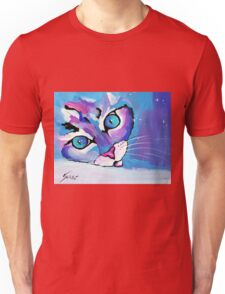 Star Kitten - Animal Art by Valentina Miletic Unisex T-Shirt