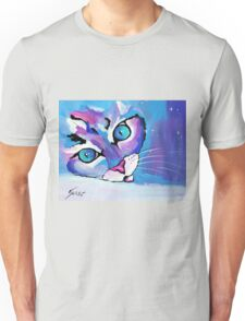 Star Kitten - Animal Art by Valentina Miletic Unisex T-Shirt
