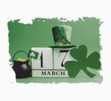 patricks day March 17 One Piece - Short Sleeve