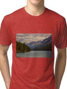 Bowman Lake Montana Tri-blend T-Shirt