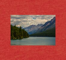 Bowman Lake Montana Tri-blend T-Shirt