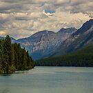 Bowman Lake Montana by Melissa Seaback