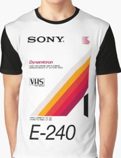 Retro VHS tape vaporwave aesthetic Graphic T-Shirt