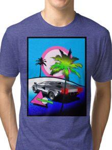 Beach Cruisn' 1990 Tri-blend T-Shirt
