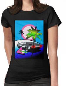 Beach Cruisn' 1990 Womens Fitted T-Shirt