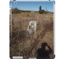 Stillness specks  iPad Case/Skin