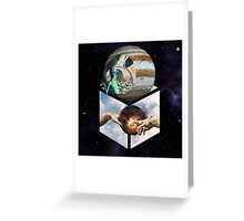 Lets Build a World in Jupiter Greeting Card