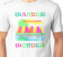 Wander Wonder Mountain Scene Unisex T-Shirt