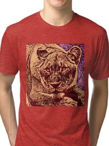 SEE LION RUN Tri-blend T-Shirt